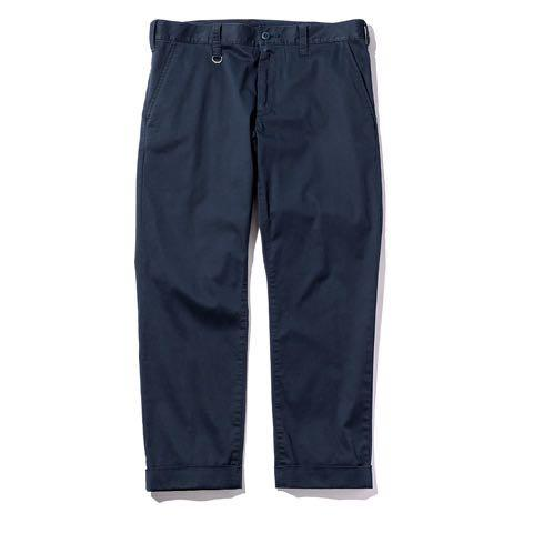 Sophnet stretch cotton ankle cut cuff chino Soph navy