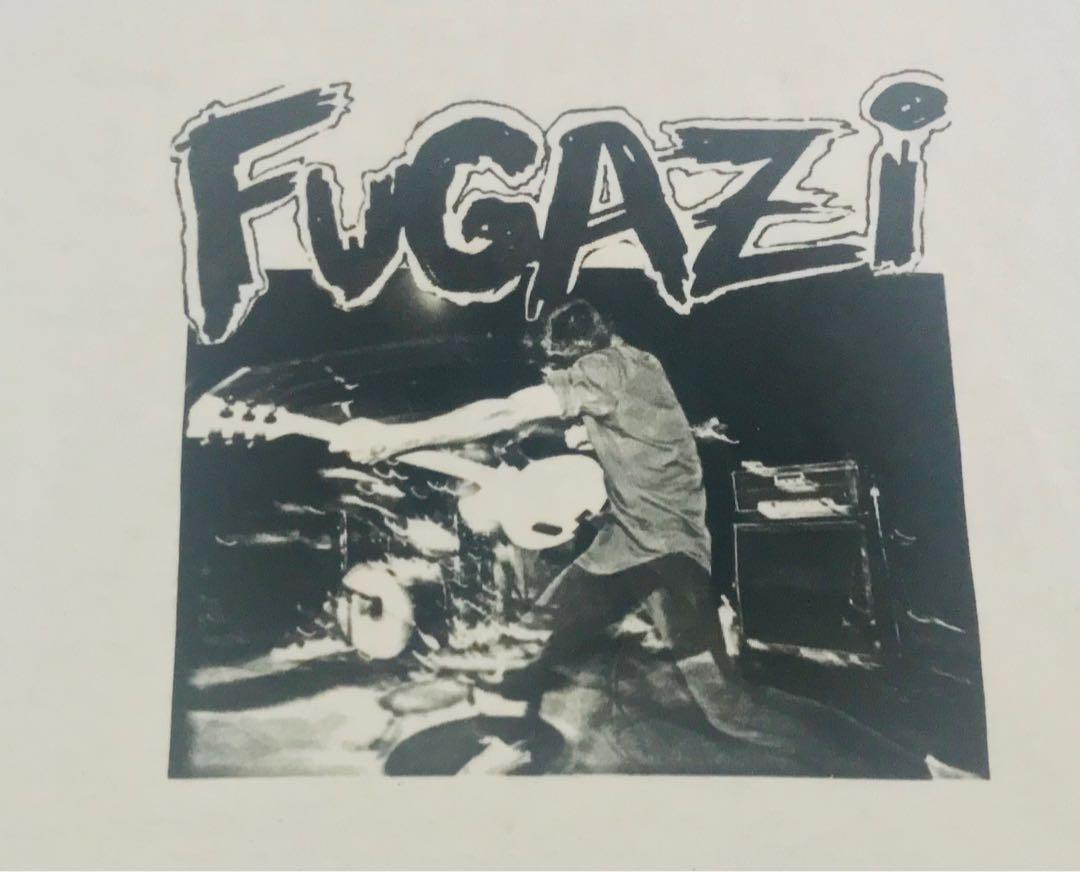 Super Rare! Vintage FUGAZI 3 Quater