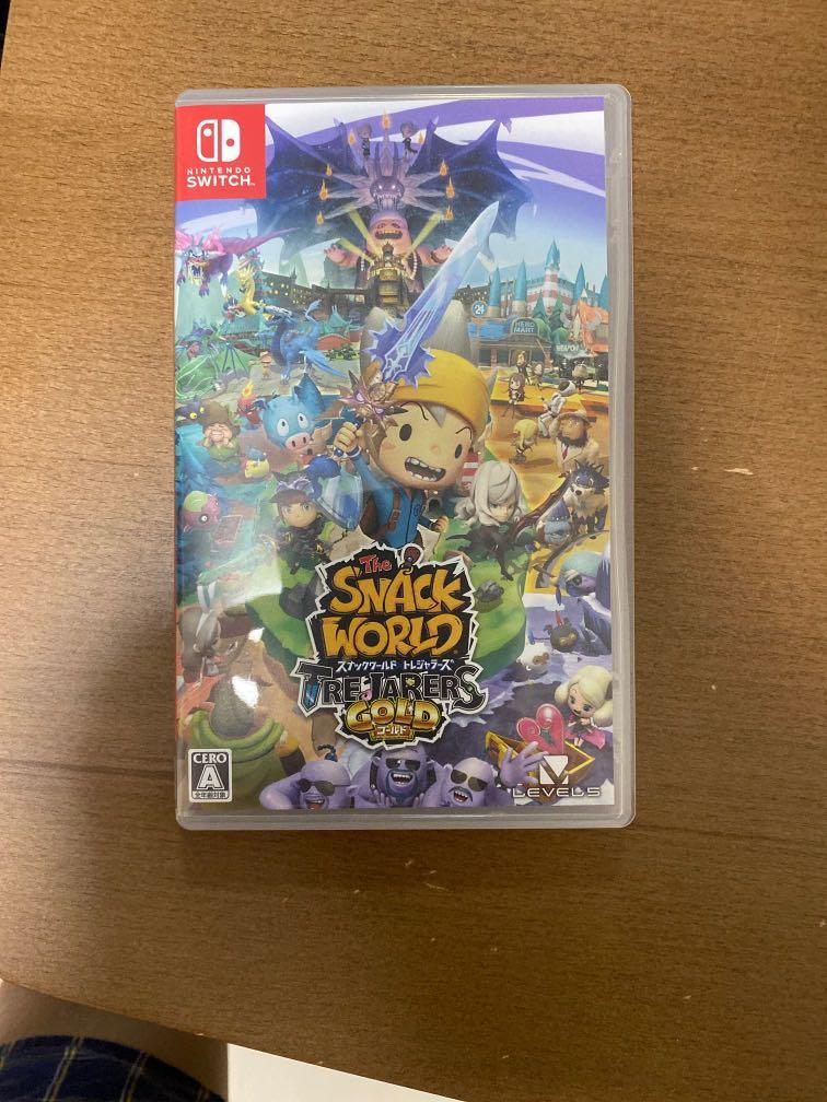 Switch snack world