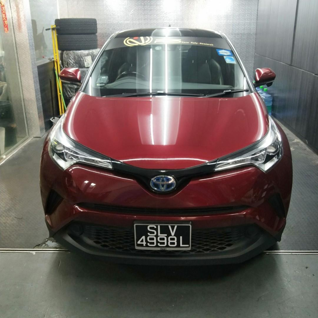 TOYOTA CHR HYBRID FOR RENT! SPORTY AND FUEL EFFICIENT HYBRID IN THE MARKET UNIT. $150 WEEKLY GOJEK REBATES. $500 DRIVEAWAY. IMMEDIATE AVAILABLE