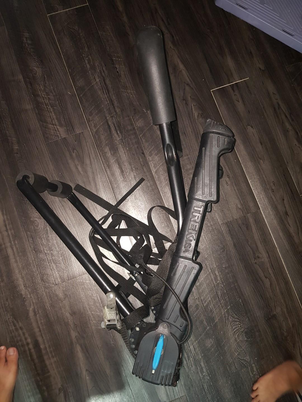 Trek Rear Bicycle rack, bike mount, carrier
