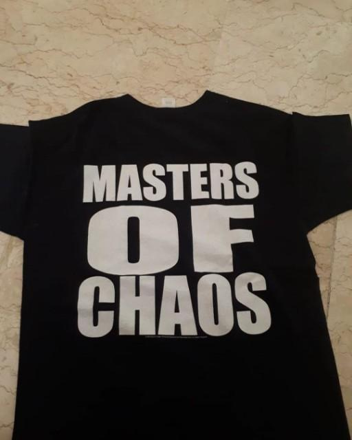 "Ts Morbid Angel ""master of chaos"" kaos metal"