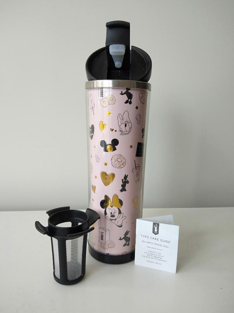 Typo tea travel mug