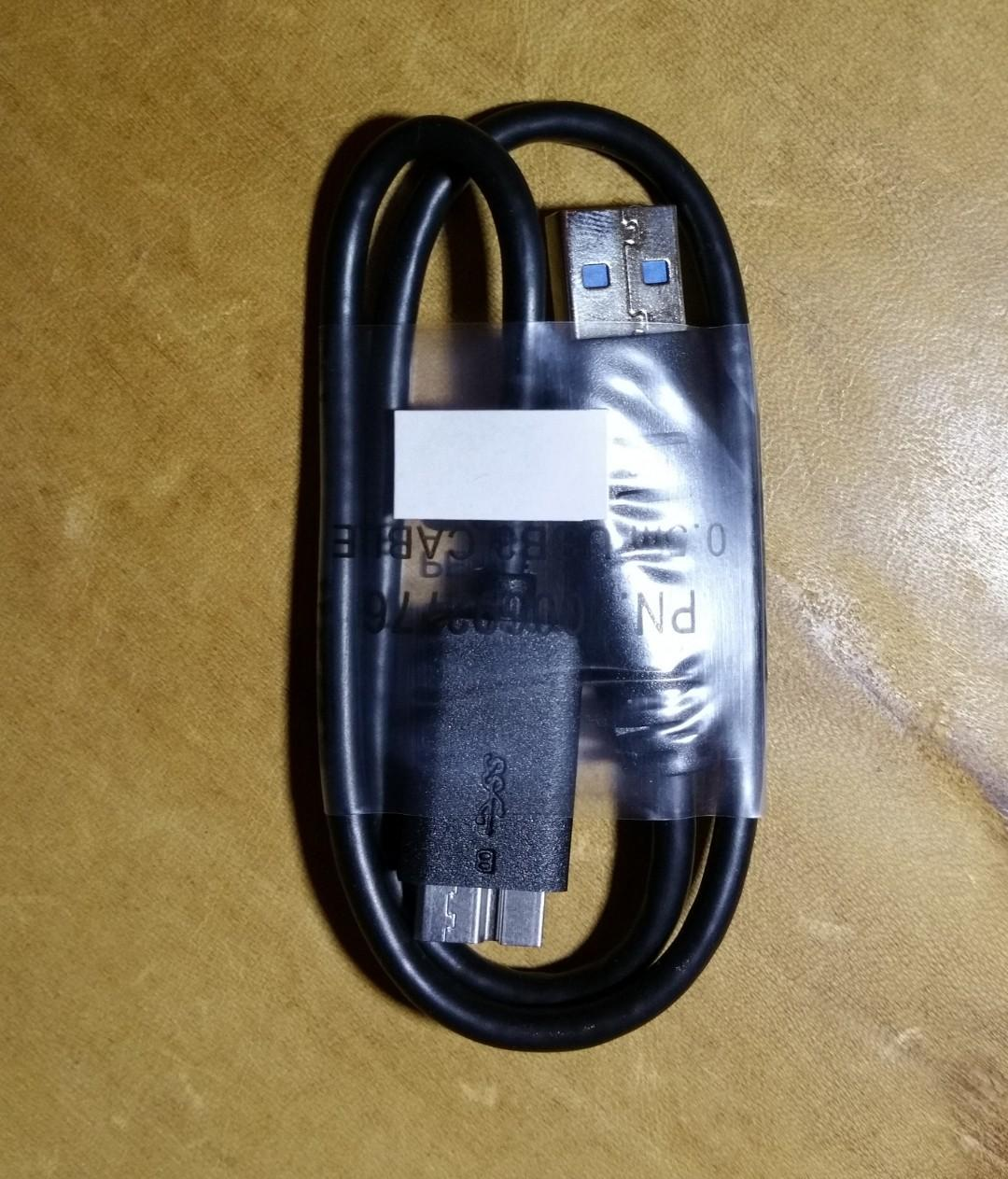 USB Cable 3.0 for external hard drive Seagate WD Toshiba compatible