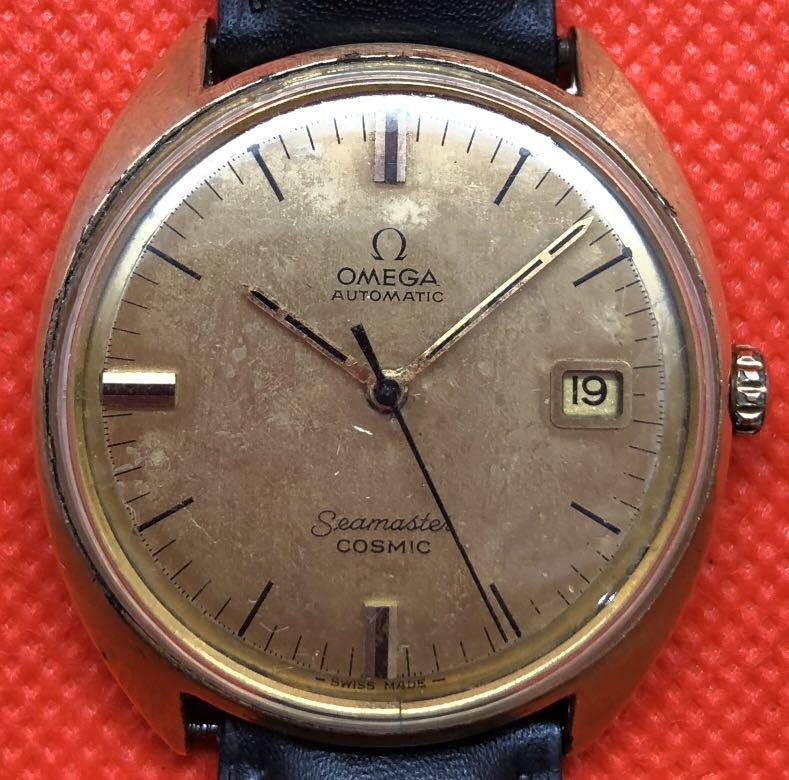 Vintage Omega Seamaster Cosmic Automatic Watch