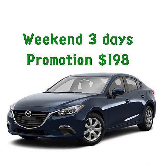 Weekend Promotion $198