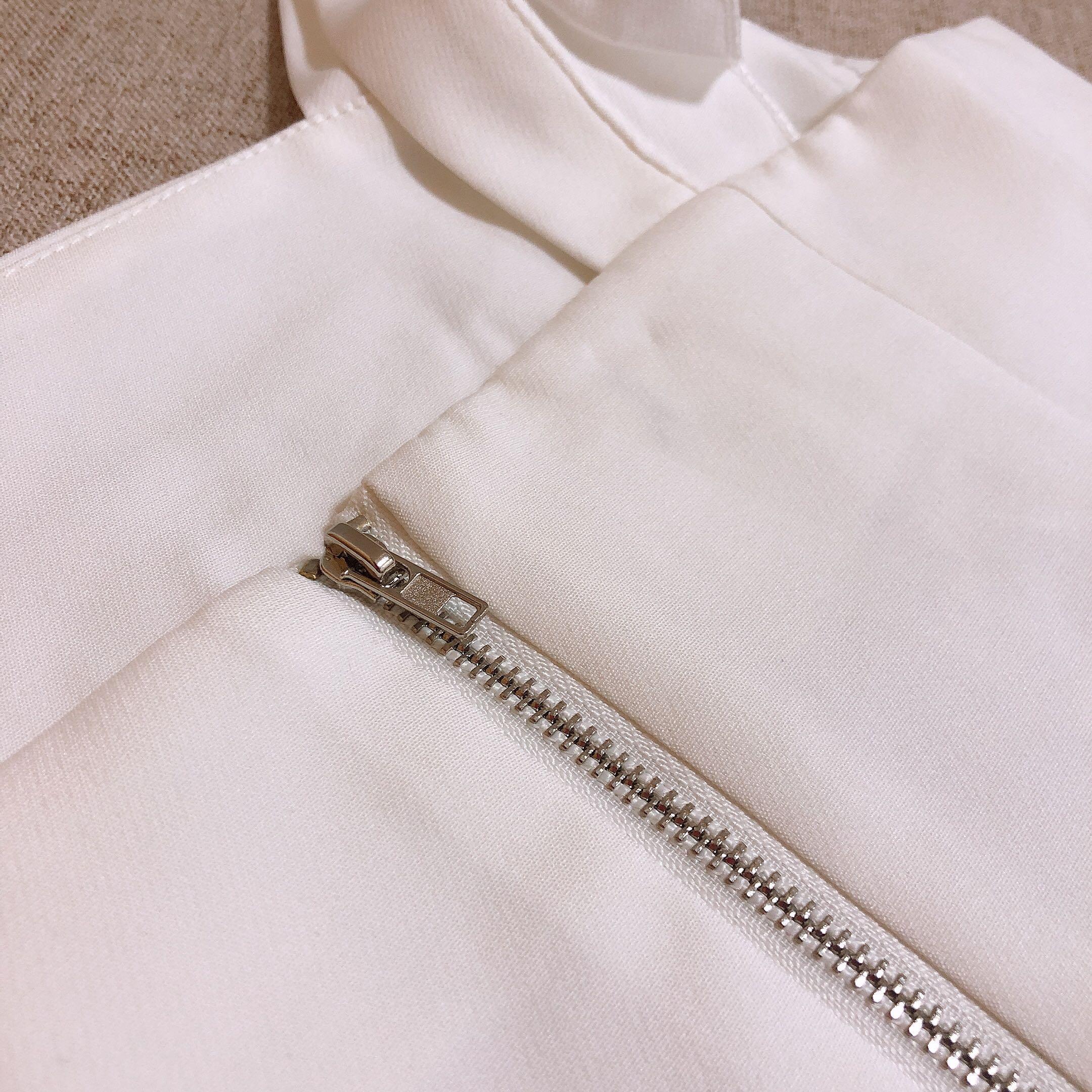 White crop top, ruffles