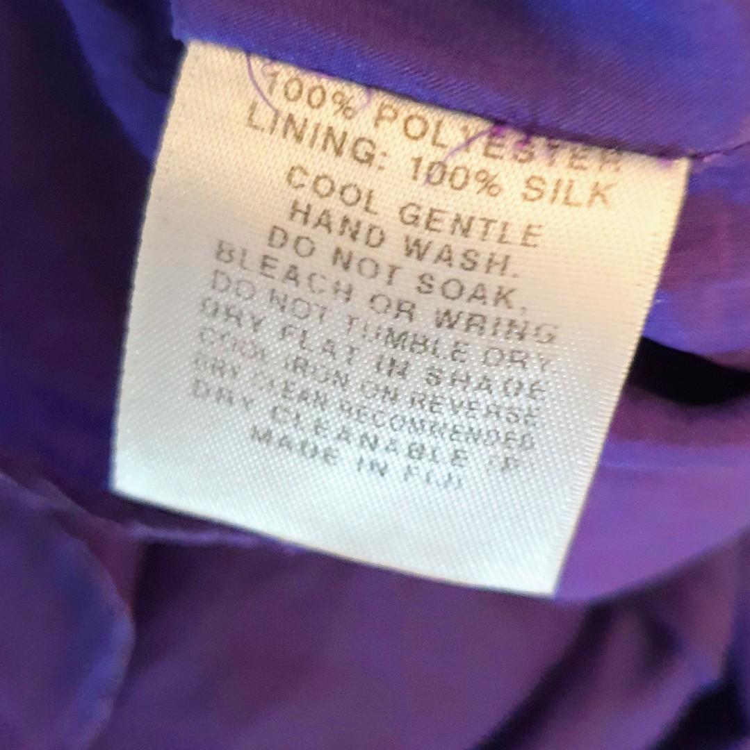 Women's size 34 = 6 'KOOKAÏ' Stunning purple ruffle cami top