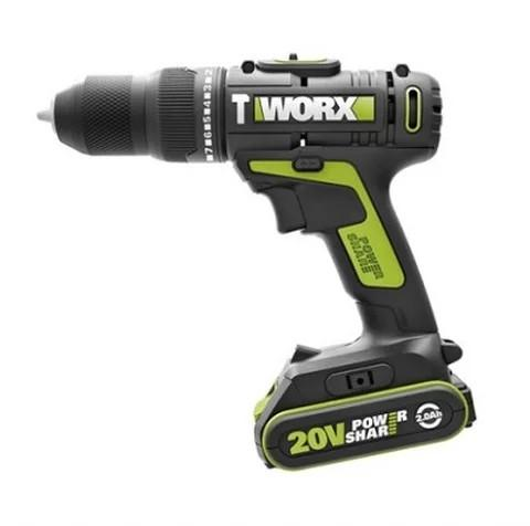 WORX 威克士 WU179. 9 20V鋰電雙速衝擊電鑽(淨機)Lithium Ion Two-speed Impact Drill(Tool only)