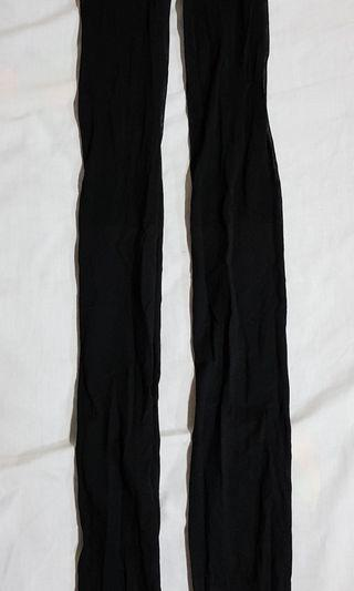 絲襪(大腿透膚,小腿不透膚黑色)