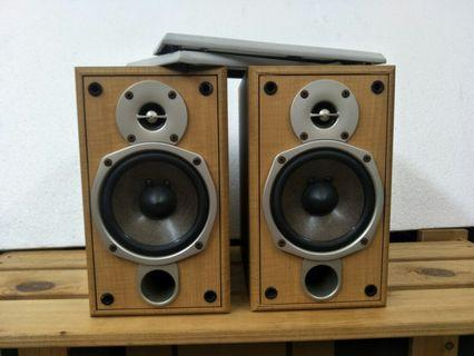 Onkyo D-N5FX Bookshelf/ Surround Speakers