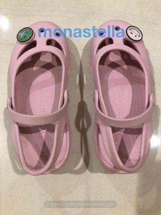 PL Crocs - sepatu sandal anak perempuan