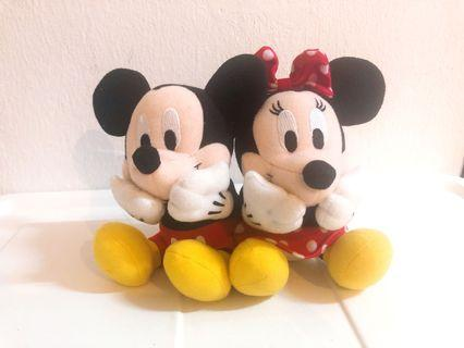 Disney Mickey & Minnie Couple *Gt String Can Moving
