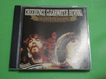 CD CREEDENCE CLEARWATER REVIVAL : CHRONICLE VOL.1 ALBUM (COMPILATION) (1991 REISSUE) ROOTS ROCK CLASSIC CCR JOHN FOGERTY