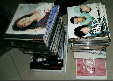 CD DVD 偶像 歌手 懷念金曲 唱片 臺語 國語 粵語