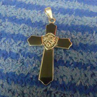 純銀項鏈墬子十字架