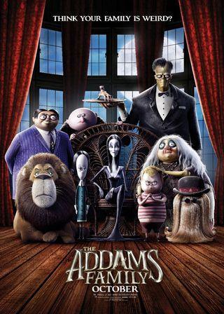 (電影海報) 阿達一族 2019 環球 迪士尼 阿達 卡通 3D 兒童 美國 漫畫 高魔子 莎莉賽隆 史努比狗狗