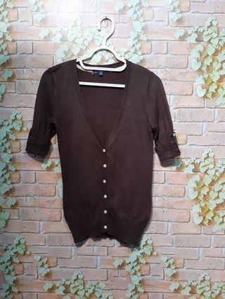 GAP brown cardigan