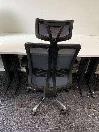 AM OFFICE 6 DESK + 6 CHAIRS (ALL 12 ITEMS RM1500)
