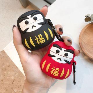 【肉肉3C】現貨-日本福神娃娃Apple airpods保護套 藍芽耳機保護套 蘋果耳機套 動物耳機套 日本達摩 不倒翁
