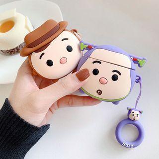 【肉肉3C】現貨-Q版巴斯光年Apple airpods保護套 藍芽耳機保護套 蘋果耳機套 Q版胡迪 玩具總動員