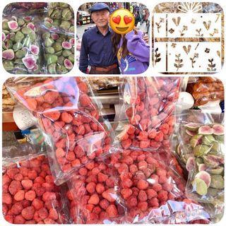 韓國南大門爺爺草莓乾 無花果乾