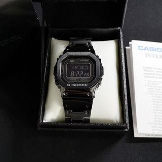 G-SHOCK GMW-B5000GD-1 FULL BLACKOUT METAL CASIO B5000 B-5000 WATCH