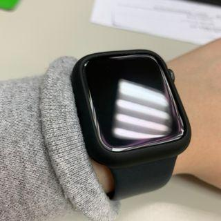 Apple watch 簍空 四角保護套 磨砂 保護殼 44mm applewatch