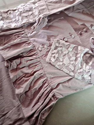 Blouse+Mermaid skirt