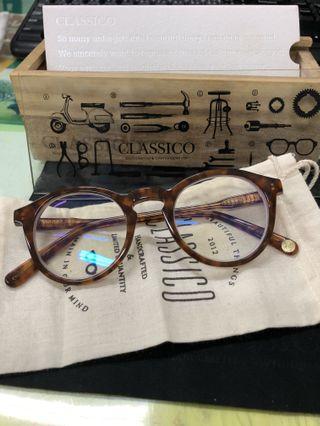 classico 絕版 C3 經典 焦糖 琥珀 復古 眼鏡。