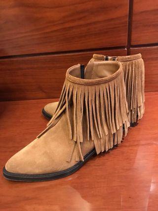 LV麂皮鞋 正品