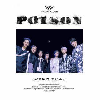 [PO] VAV - Poison (5th Mini Album)