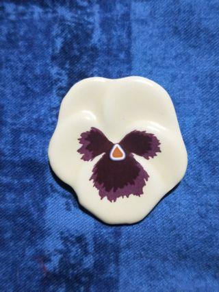 AVON vintage 西洋古董復古胸針 飾品 陶
