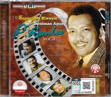 P.Ramlee Sepanjang Riwayat Seniman Agung Vol.3 Original VCD Karaoke