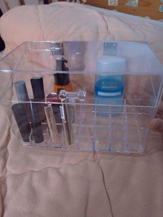 全新 化妝品收納 翻蓋口紅收納盒 大容量
