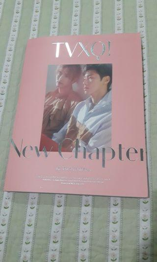 TVXQ New Chapter #2 Album Pink Ver.