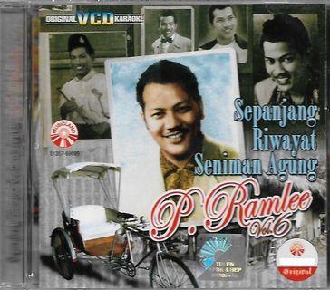 P.Ramlee Sepanjang Riwayat Seniman Agung Vol.6 Original VCD Karaoke