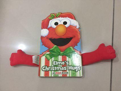 Elmo's Christmas Hug book