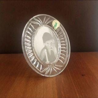 Vintage Waterford Crystal Mini Oval Picture Frame