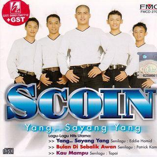 Scoin Album Yang.. Sayang Yang CD