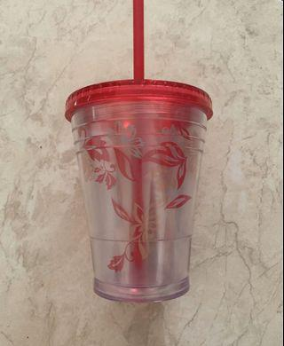 Starbucks Floral Cold Cup 12OZ