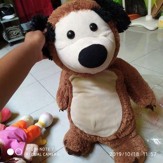 #maugendongan Boneka Bear