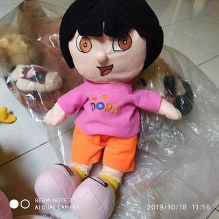 #maugendongan Boneka Dora