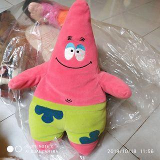 #maugendongan Boneka Patrick