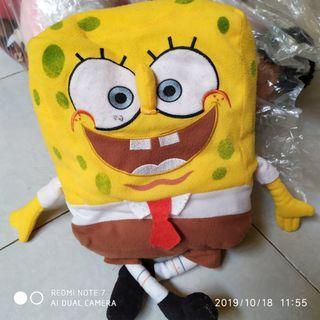 #maugendongan Boneka Spongeboob