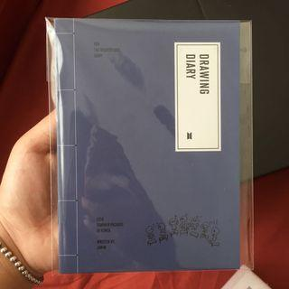[WTT] BTS SUMMER PACKAGE 2019 DRAWING DIARY (JIMIN)