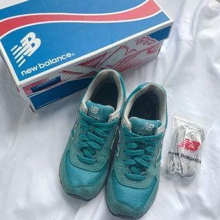 保證正品 Tiffany綠色 New Balance 韓妞慢跑鞋 35號/22.5號 附盒