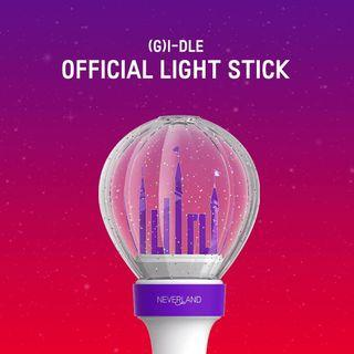 Batch 1  G-IDLE OFFICIAL LIGHTSTICK + FREE SHIPPING