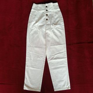 Highwaist White Pants