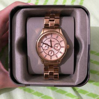 Fossil BQ1561 Rose Gold Stainless Steel Watch